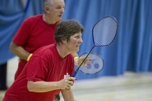 Over 55's badminton sessions