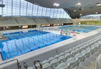Swim at the london aquatics centre for Female only swimming pool london