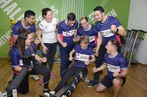 GREAT_ROW_Terrie_Waters_cheered_on_by_GB_Rower_Melissa_Wilson__white_top__and_Better_Leisure_gym_staff.jpg