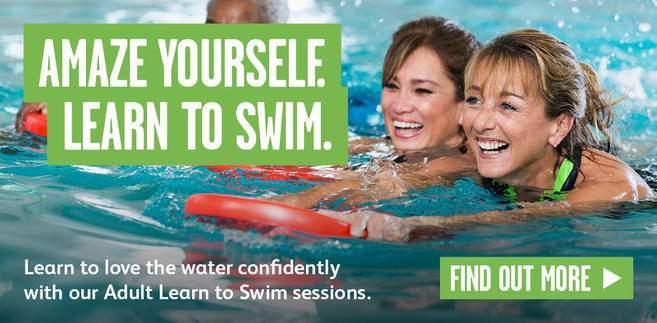 learn swimming london adults