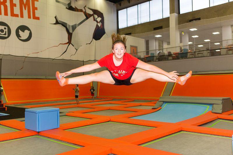 Adult Trampolining - Poplar Baths Leisure Centre and Gym
